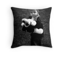 Puppy Love II Throw Pillow