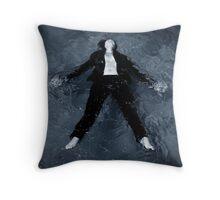 Floating Free Throw Pillow