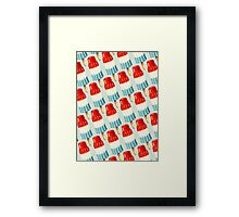 Bomb Pop Pattern Framed Print