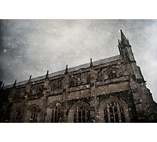 Winter Series Winchester Cathedral Photographic Print