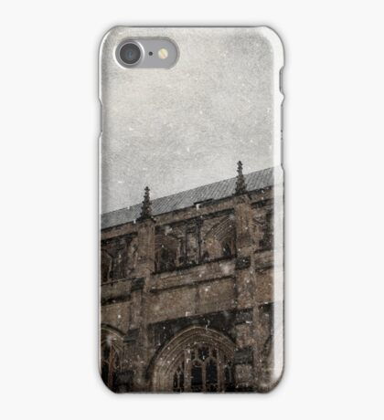 Winter Series Winchester Cathedral iPhone Case/Skin