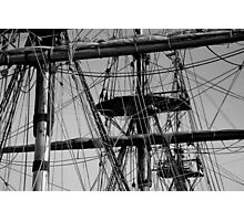 Rigging Photographic Print