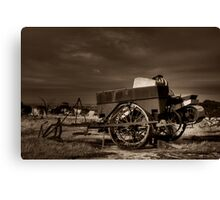 Superseded Canvas Print