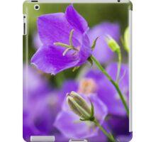 Canpanula Vivid Blue iPad Case/Skin