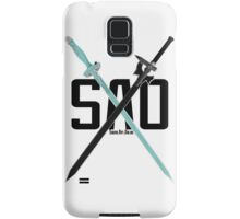 SAO - Crossing Blades Samsung Galaxy Case/Skin
