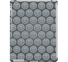 Ninja Turtle Sewer Lid Pattern iPad Case/Skin