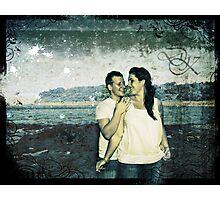 Dan and Kate e-session photo Photographic Print
