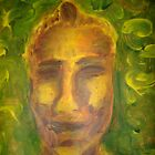Ian in Yellow (January 2008, Painting, Acrylic on paper) Alison B Allen by fatchickengirl