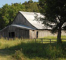 Big Gray Barn by Teddie McConnell