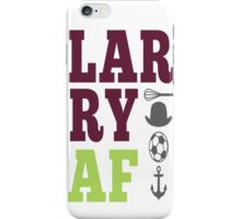 LARRY AF w/whisk and anchor iPhone Case/Skin