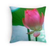 Lotus #28 Throw Pillow