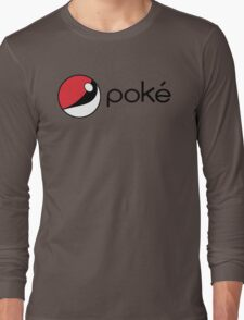 poké Long Sleeve T-Shirt