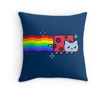 Nyan Catbug Throw Pillow