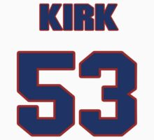 National football player Ken Kirk jersey 53 by imsport