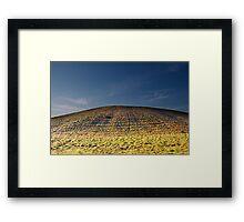 A Hill Framed Print