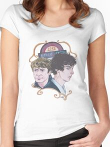 The Two of Baker Street Women's Fitted Scoop T-Shirt