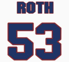 National football player Matt Roth jersey 53 by imsport