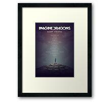 Imagine Dragons - Night Visions Poster Framed Print