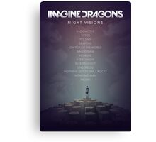 Imagine Dragons - Night Visions Poster Canvas Print