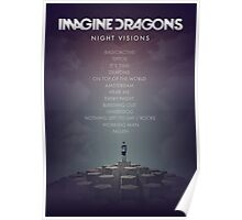 Imagine Dragons - Night Visions Poster Poster