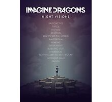 Imagine Dragons - Night Visions Poster Photographic Print