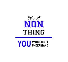 It's a NON thing, you wouldn't understand !! by thestarmaker