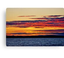 Basking in the Afterglow Canvas Print
