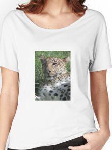 Leopard Women's Relaxed Fit T-Shirt