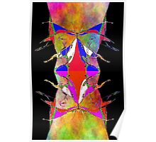Abstract Alien Poster