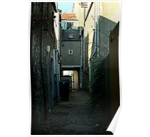 Peebles alley Poster