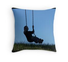 Justa Swingin Throw Pillow