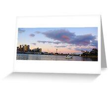 Awaiting The Dawn - Sydney Harbour, Sydney Australia Greeting Card