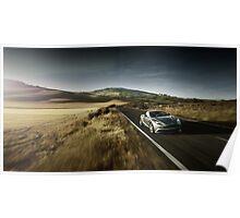 Aston Martin Vanquish Poster