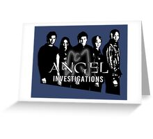Angel Investigations: Angelic Glow Greeting Card