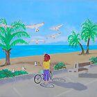 Smathers Beach, Key West, Florida by Joni Philbin
