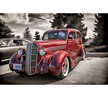 1936 Dodge 4-door Sedan Photographic Print