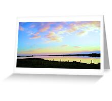 Irish Dusk Greeting Card