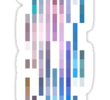 Strips of Color Sticker