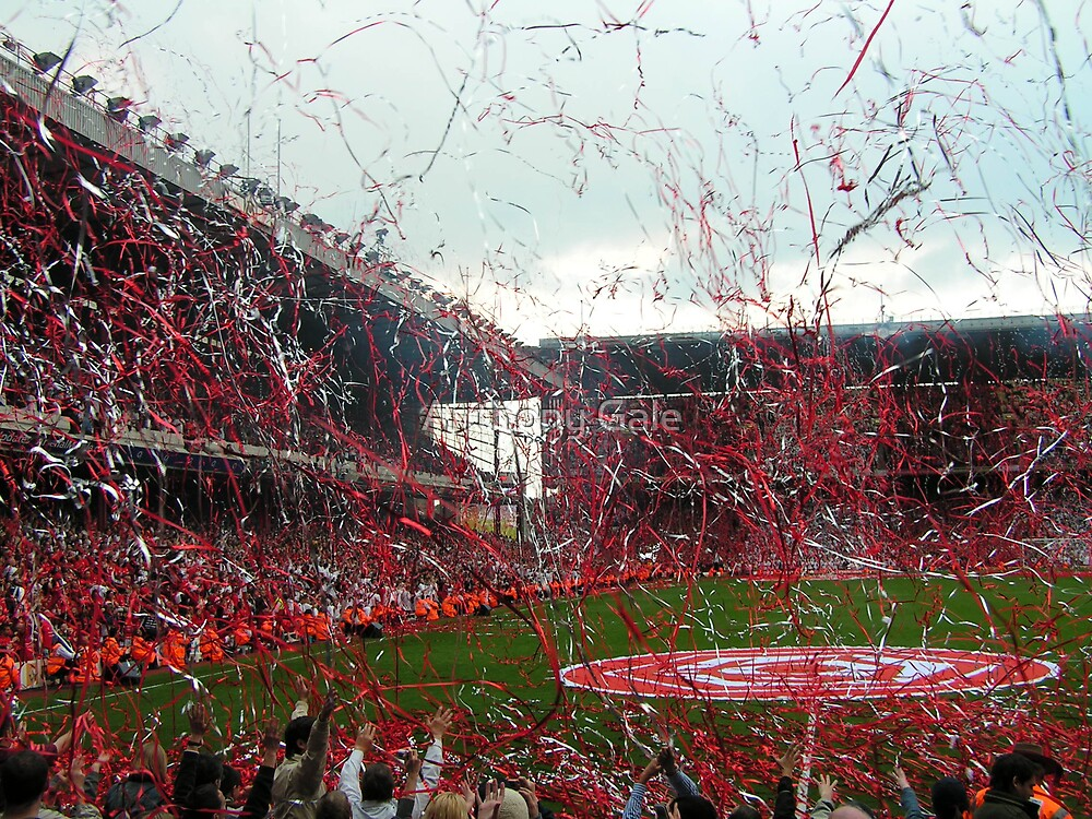 Last game at Highbury by Anthony Gale