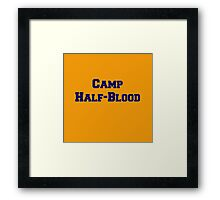 Camp Half-Blood Framed Print
