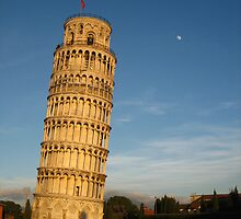 The Leaning tower of Pisa- Italy 2008 by Marichelle