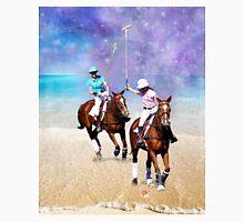 Horse Polo Beach Galaxy Unisex T-Shirt