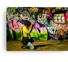 The Graffiti Artist! Canvas Print