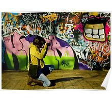 The Graffiti Artist! Poster