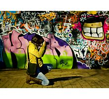 The Graffiti Artist! Photographic Print