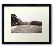 Stene Gardens, Worthing, West Sussex. Framed Print