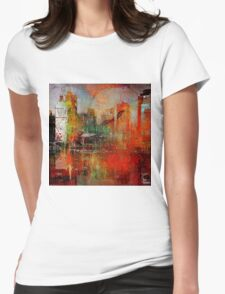 New York, 4 am Womens Fitted T-Shirt