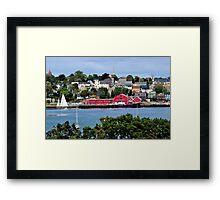Summer in Lunenburg Framed Print