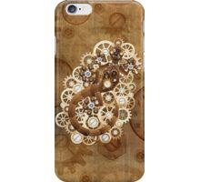 Steampunk Gecko Lizard Vintage Style iPhone Case/Skin