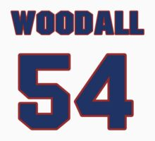 National football player Lee Woodall jersey 54 by imsport
